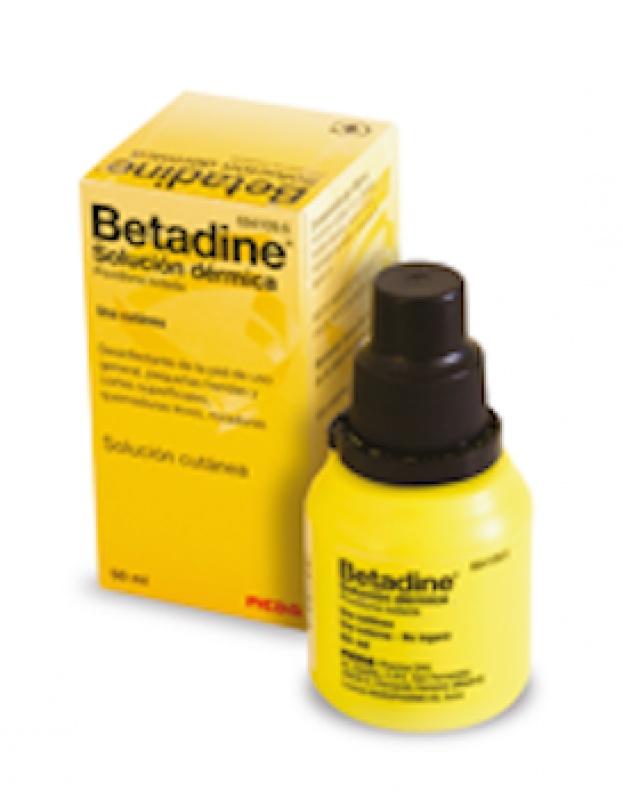 Betadine y otros trucos para desinfectar heridas