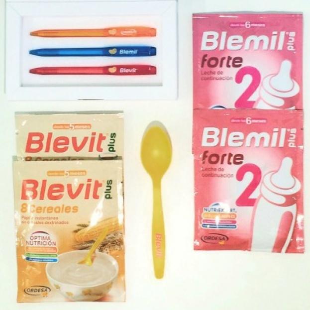 Campaña para los peques, Blemil y Blevit