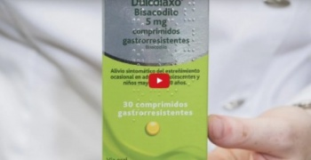 Dulcolaxo, vídeo prospecto de un laxante